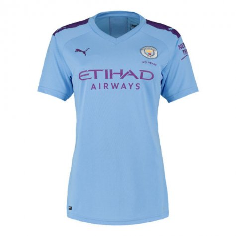 2019-2020 Manchester City Puma Home Ladies Shirt (MENDY 22)