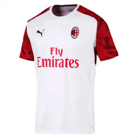 2019-2020 AC Milan Puma Training Shirt (White) (PIATEK 9)