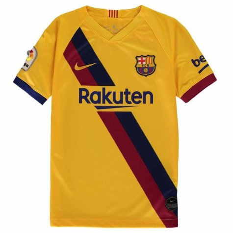 2019-2020 Barcelona Away Nike Shirt (Kids) (GUARDIOLA 4)