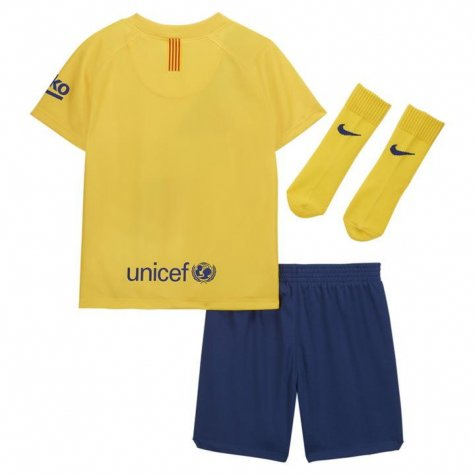 2019-2020 Barcelona Away Nike Baby Kit