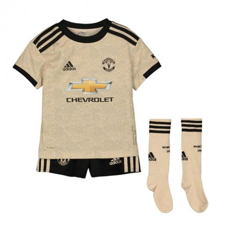 2019-2020 Man Utd Adidas Away Little Boys Mini Kit (Greenwood 26)