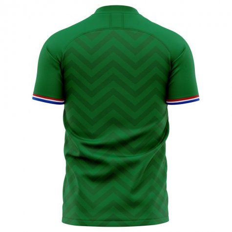 2019-2020 Saint Etienne Home Concept Football Shirt