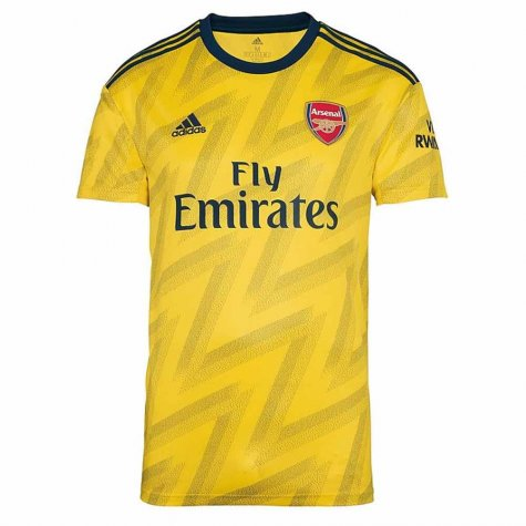 2019-2020 Arsenal Adidas Away Football Shirt (WENGER 49)