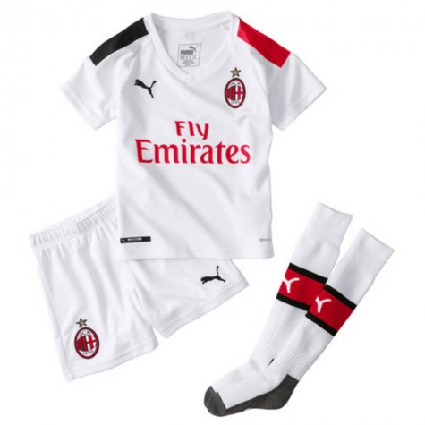 2019-20 AC Milan Away Mini Kit (CASTILLEJO 7)