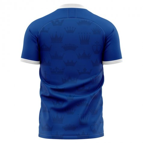 2020-2021 Real Oviedo Home Concept Football Shirt - Womens