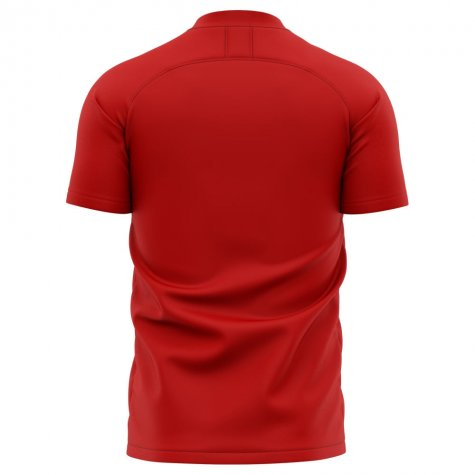 2020-2021 Southampton Home Concept Football Shirt