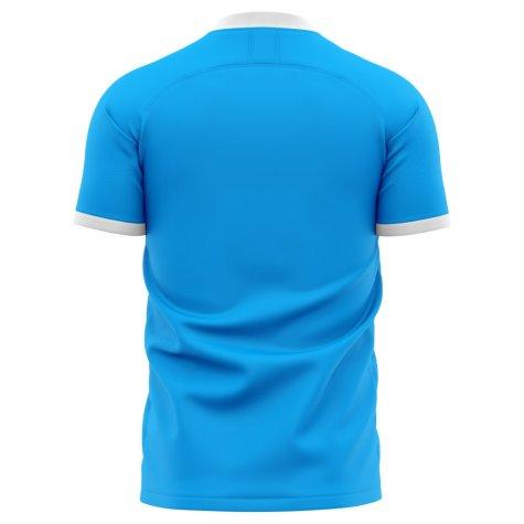 2020-2021 Slovan Bratislava Home Concept Football Shirt - Kids