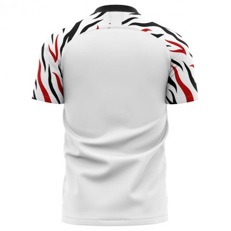 2020-2021 Swansea Home Concept Football Shirt - Kids
