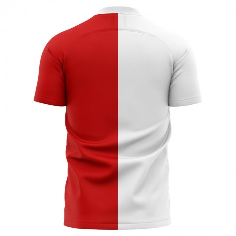 2020-2021 Slavia Prague Home Concept Football Shirt