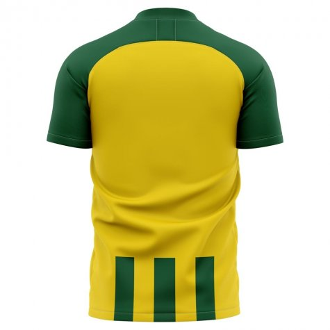 2020-2021 Ado Den Haag Home Concept Football Shirt - Kids
