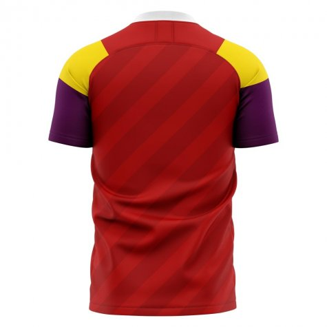 2020-2021 Wrexham Home Concept Football Shirt - Womens