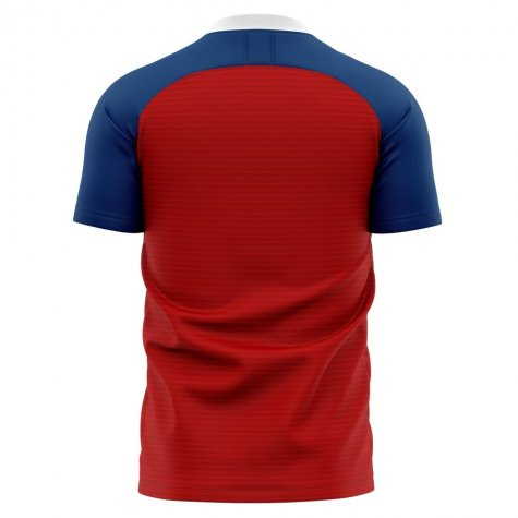 2020-2021 Osasuna Home Concept Football Shirt - Baby