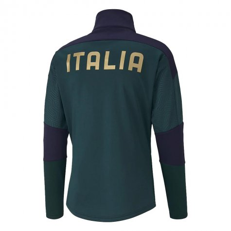 2019-2020 Italy Puma Training Fleece (Pine)