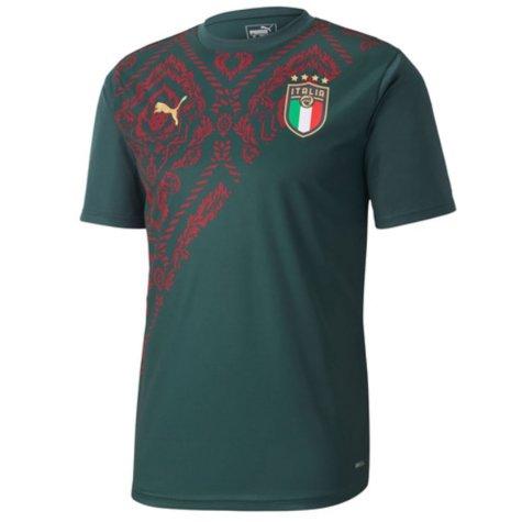 2019-2020 Italy Puma Stadium Jersey (Pine) (Marchisio 8)