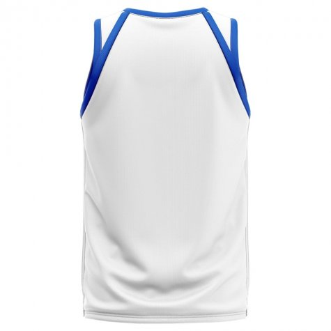 Serbia Home Concept Basketball Shirt