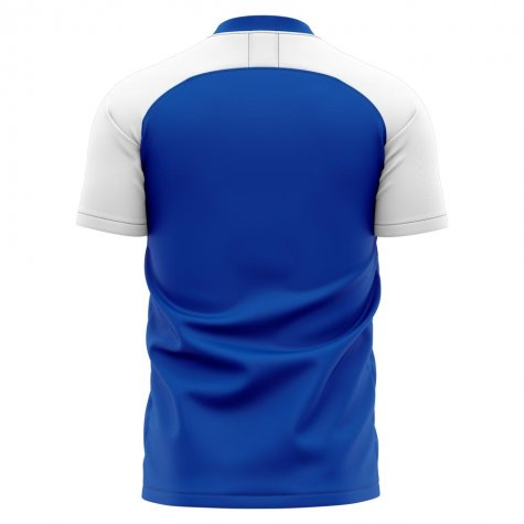 2019-2020 Colchester Home Concept Football Shirt - Womens