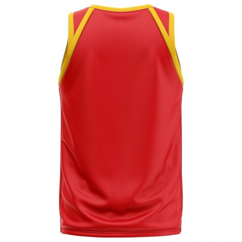 Belgium Home Concept Basketball Shirt - Kids