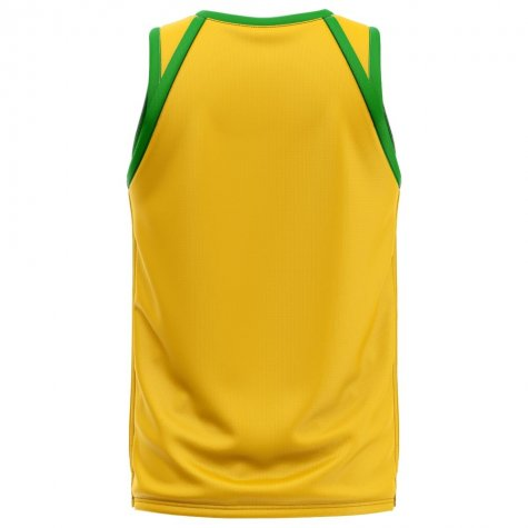 Brazil Home Concept Basketball Shirt