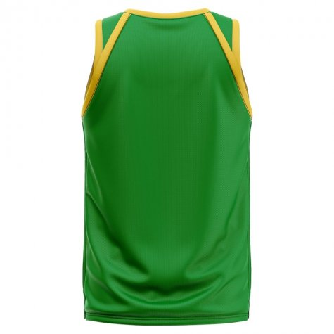 Cameroon Home Concept Basketball Shirt - Kids