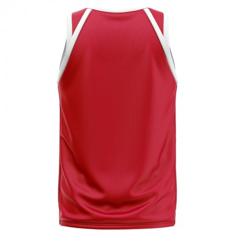 Denmark Home Concept Basketball Shirt - Kids