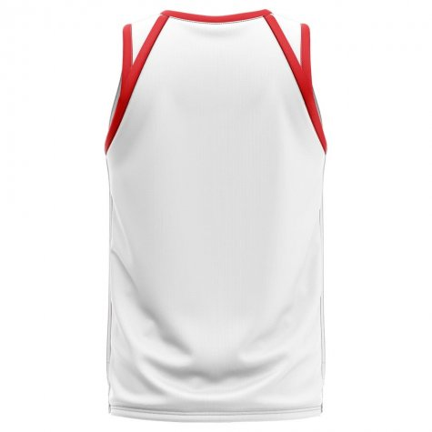 England Home Concept Basketball Shirt