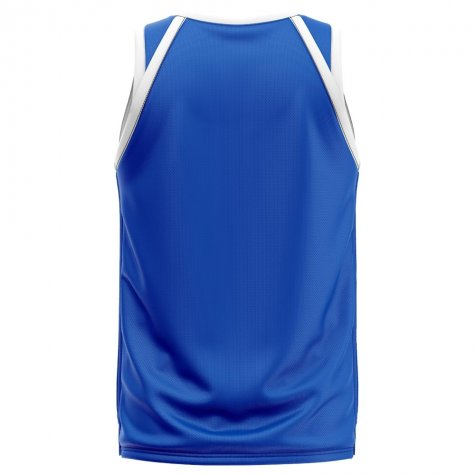 France Home Concept Basketball Shirt - Little Boys