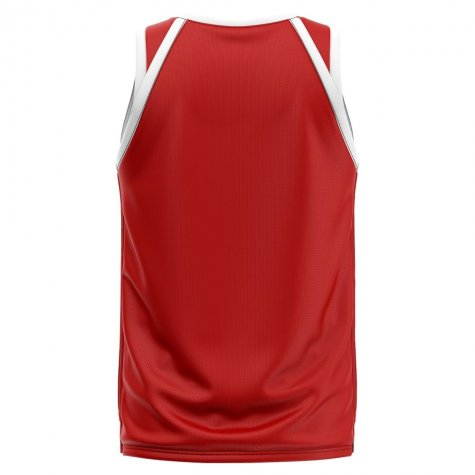 Wales Home Concept Basketball Shirt