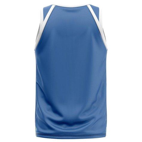 Uruguay Home Concept Basketball Shirt - Baby