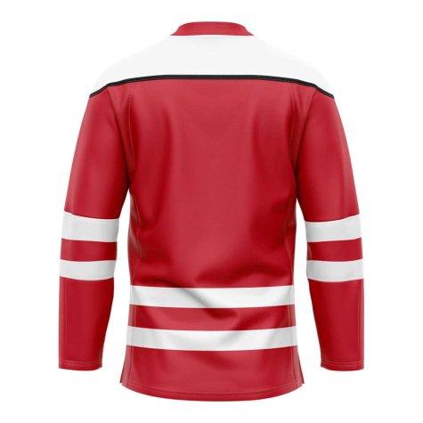 Denmark Home Ice Hockey Shirt