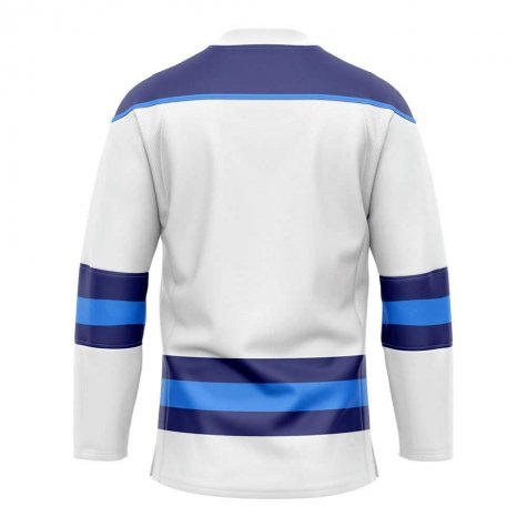 Finland Home Ice Hockey Shirt