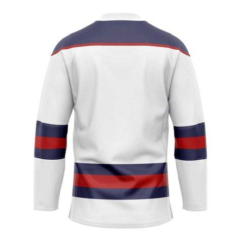 United States Home Ice Hockey Shirt