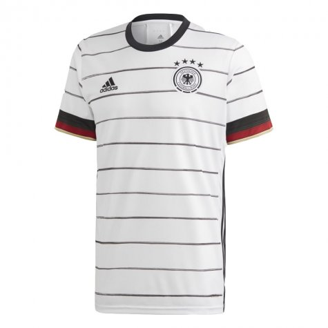 2020-2021 Germany Home Adidas Football Shirt (BRANDT 10)