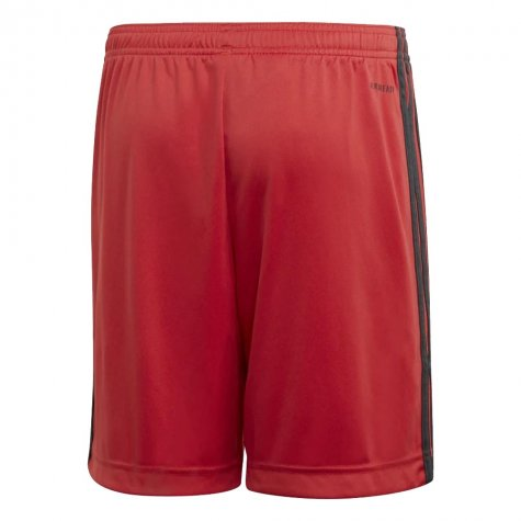 2020-2021 Germany Home Adidas Goalkeeper Shorts (Red) - Kids