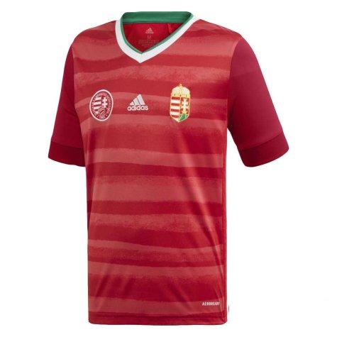 2020-2021 Hungary Home Adidas Football Shirt (Kids) (ORBAN 6)