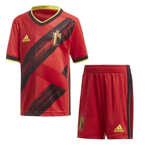 2020-2021 Belgium Home Adidas Mini Kit (ALDERWEIRELD 4)