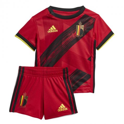 2020-2021 Belgium Home Adidas Baby Kit (COURTOIS 1)