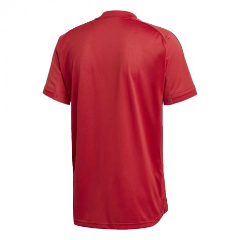 2020-2021 Belgium Adidas Training Shirt (Red) (T HAZARD 16)
