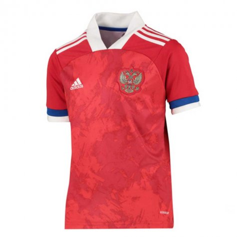 2020-2021 Russia Home Adidas Football Shirt (Kids) (PAVLYUCHENKO 9)