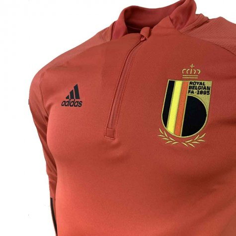 2020-2021 Belgium Adidas Training Top (Red)