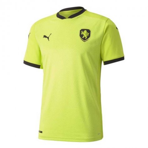 2020-2021 Czech Republic Away Puma Football Shirt (VACLIK 1)