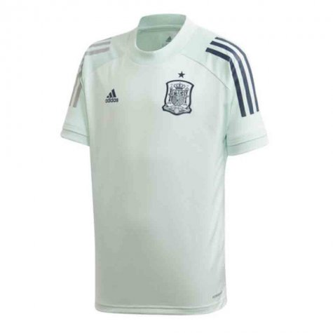 2020-2021 Spain Adidas Training Jersey (Dash Green) (MATA 13)