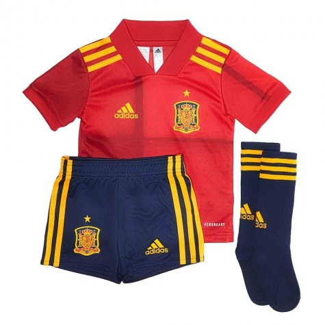 2020-2021 Spain Home Adidas Mini Kit (Your Name)