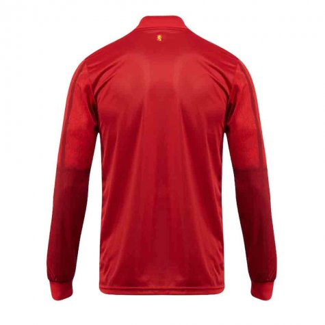 2020-2021 Spain Home Adidas Long Sleeve Shirt (J NAVAS 22)