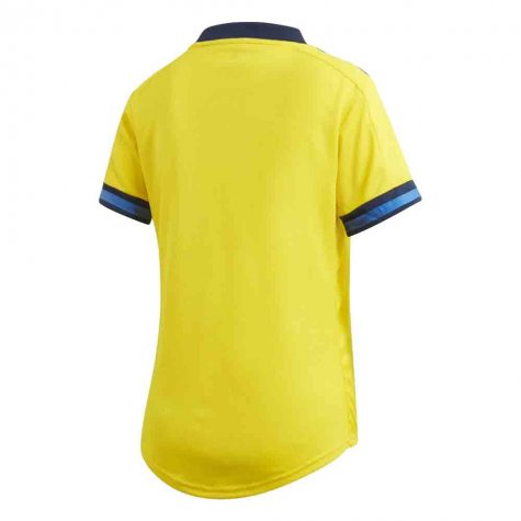 2020-2021 Sweden Home Adidas Womens Shirt