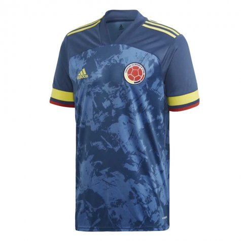 2020-2021 Colombia Away Adidas Football Shirt (VALDERRAMA 10)