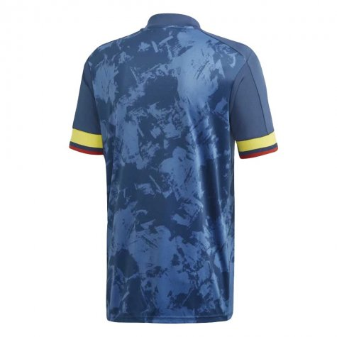 2020-2021 Colombia Away Adidas Football Shirt (OSPINA 1)
