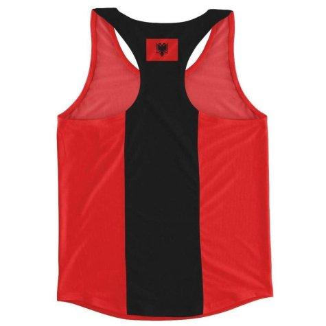Albania Flag Running Vest