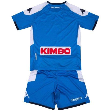 2019-2020 Napoli Kappa Home Football Kit (Kids)