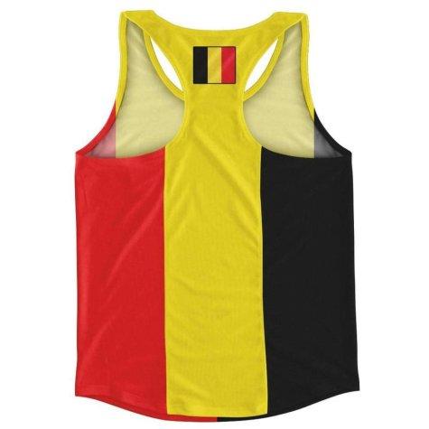 Belgium Flag Running Vest