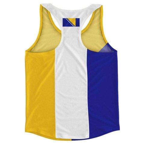Bosnia and Herzegovina Flag Running Vest